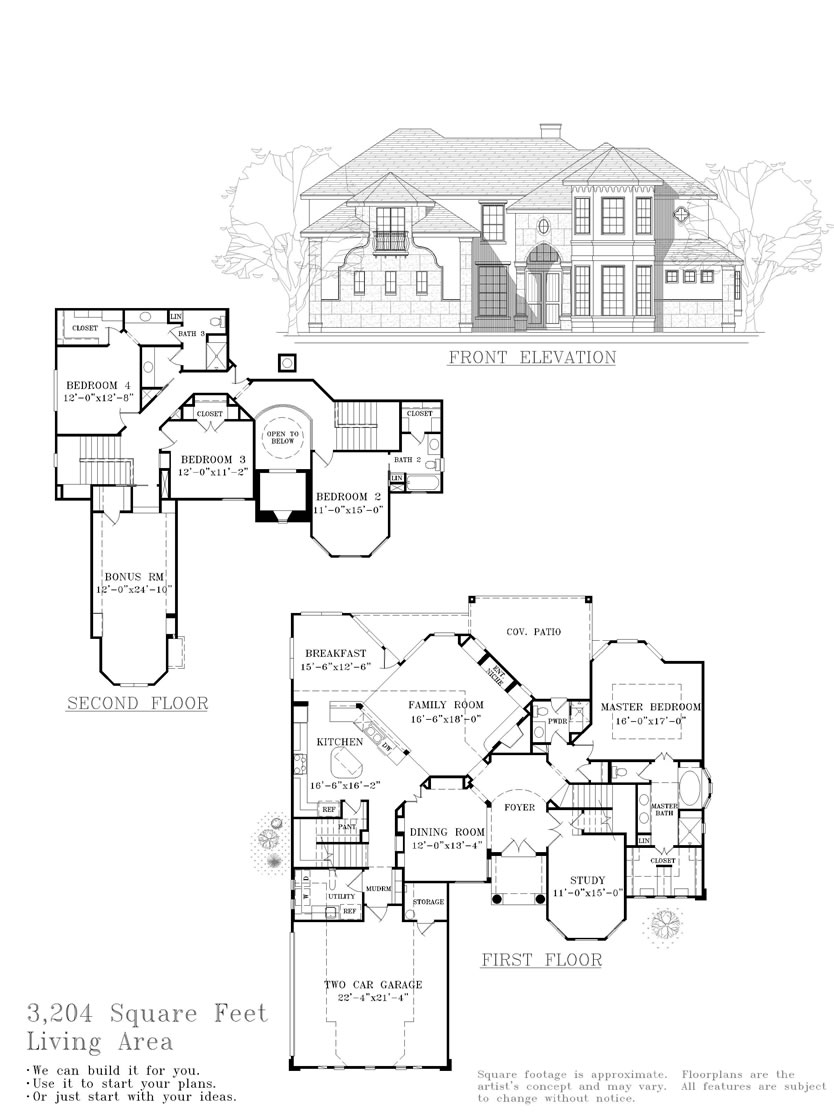 Serenity Custom Homes—Plan 3388